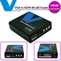 VOXLINK Full HD VGA для HDMI Audio Video Converter 4 К x 2 К Скейлер Box С ЗУМОМ 1080 P для Портативных ПК VGA2HDMI