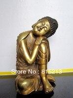 bi0074 Tibet SAKYAMUNI BUDDHA TIBET BRONZE STATUE