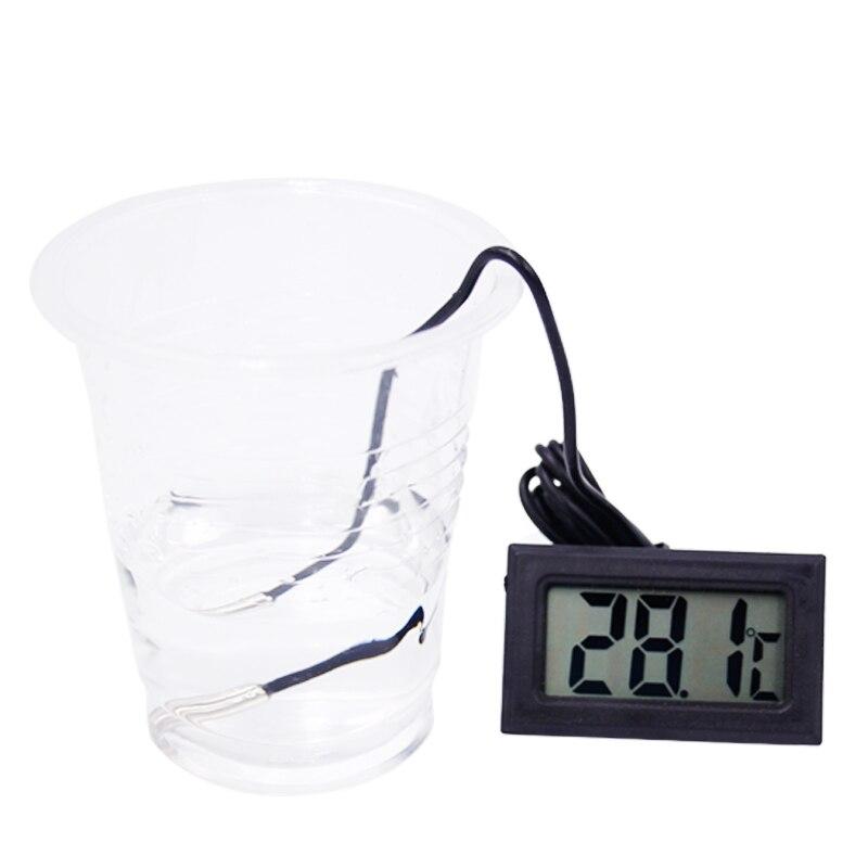 3db / tétel Új mini digitális LCD hőmérő - Mérőműszerek - Fénykép 5