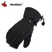 2016 Man Winter Sport Waterproof Motorcycle Gloves 30 Degree Motorcross Riding Glvoes Snowboard Skiing Warm Gloves
