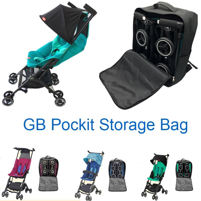Stroller Accessories Storage Bag 1:1 Goodbaby POCKIT Pram Travel Bag Backpack For GB POCKIT 2019 POCKIT PLUS  Knapsack
