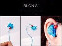 100% orijinal BLON S1 3.5mm kulak kulaklık BA ile DD BOSSHiFi S1 dengeli armatür kulak kulaklık DIY özel spor kulaklık|in ear earphones|in earearphone in ear -