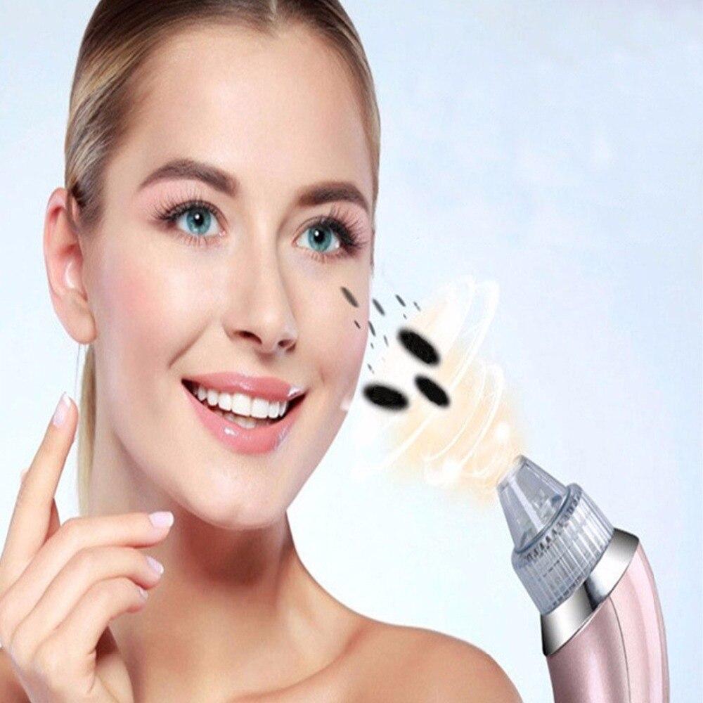 Elektrisk Mini Blackhead Remover Facial Dead Skin Acne Vakuumsugning - Sjukvård - Foto 6