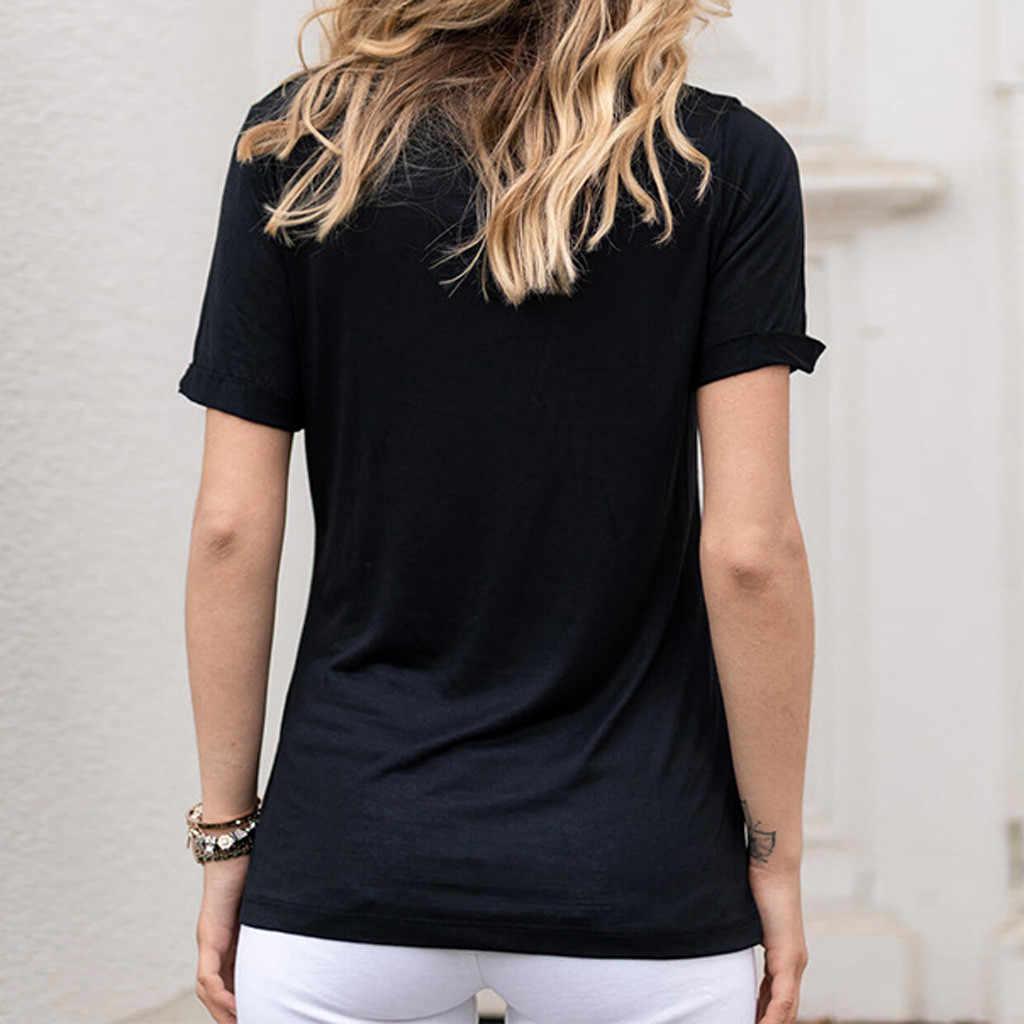 夏の服レディースカジュアルシャツは半袖 V ネックシャツトップソフトでエレガントな刺繍トップブランデー Melville # p45