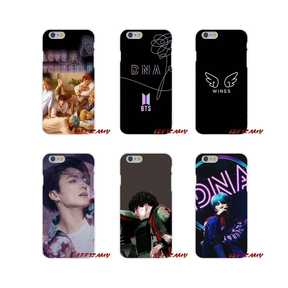 150a6632824 For Samsung Galaxy S3 S4 S5 MINI S6 S7 edge S8 S9 Plus Note 2 3 4 5 8  Accessories Phone Case BTS Yourself Fake Love Bangtan Boys