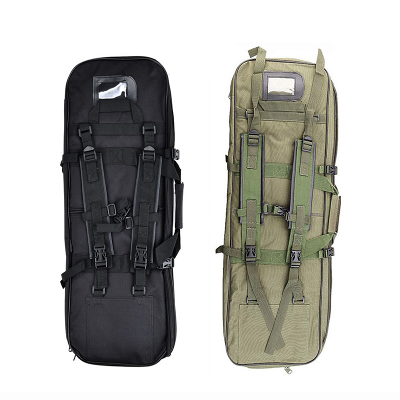 Nylon Outdoor Hunting Bag Tactical Backpack Gun Rifle Case Military Accessories Airsoftsports Shooting Bag For Fishing Camping high quality hunting bag military tactical gun bag hiking bag protective case outdoor sport backpack fishing bag 5 colors