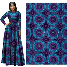 purple circle 2019 Autumn/Winter New African national clothing fabric geometric printing 75D*150D batik cloth wholesale