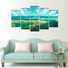 5 Pieces Modern Canvas Painting Wall Art The Picture For Home Decoration Artwork For Wall Decor