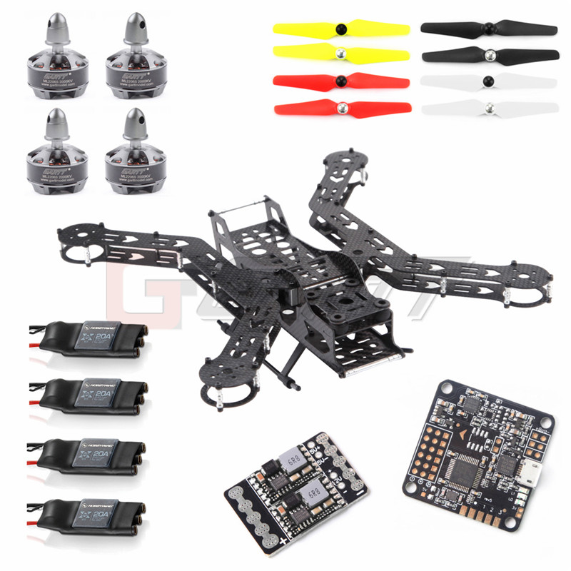 GARTT JUPITER X3 300 Carbon Fiber RC Quadcopter Frame kit Combo RC Drone Photography