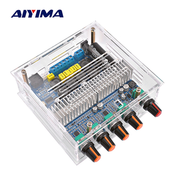 AIYIMA TPA3116 2.1 Amplificador Bluetooth Amplifier Audio Board Home Theater Digital Subwoofer Power Amplifiers 50Wx2+100W Amp