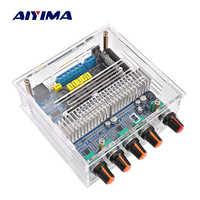 AIYIMA TPA3116 2,1 Amplificador Bluetooth Amplificador tarjeta de audio de cine en casa Digital Subwoofer amplificadores de potencia de 50Wx2 + 100W Amp