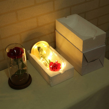 Red Rose Bottle Light | Romantic Valentines Day Gift