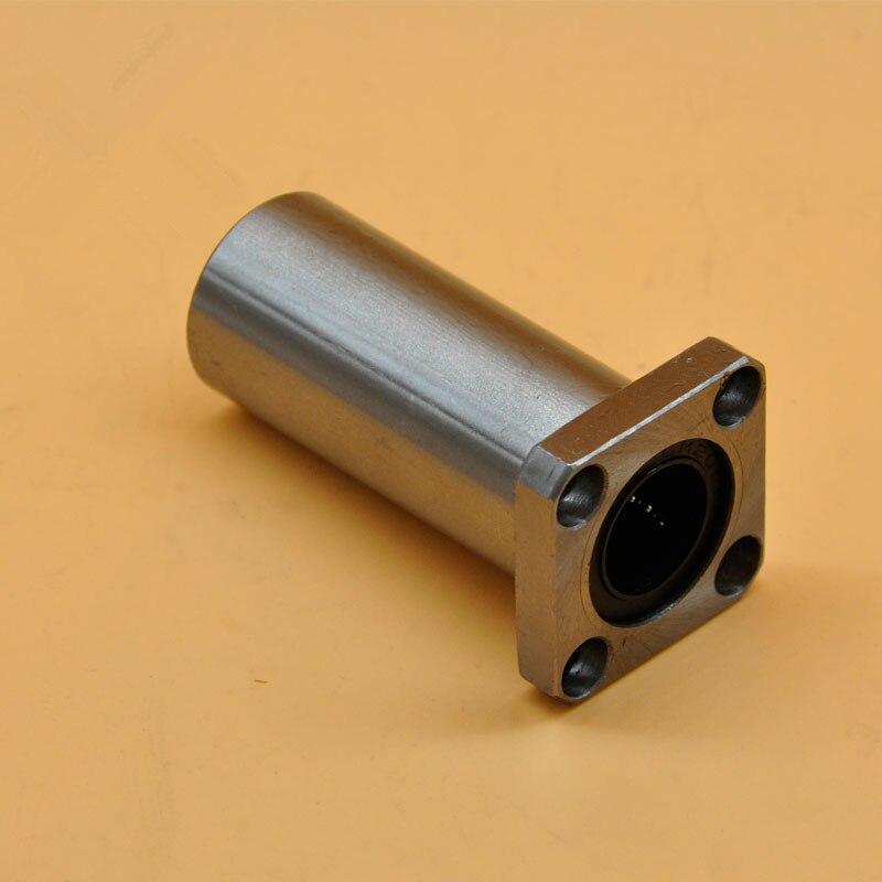 ФОТО 60mmx90mmx211mm LMK60LUU square flange long linear ball bearing for 60mm rod round shaft cnc bearing 1pcs
