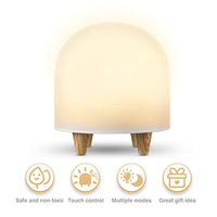 Baby LED Night Light For Kids Portable Silicone Cute Nursery Night Lamp Romantic Dim Mood Lamp