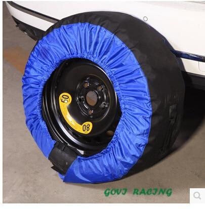 4 pçs / lote Universal Car Spare SUV Tampa do pneu Capa de pneu de - Peças auto - Foto 3