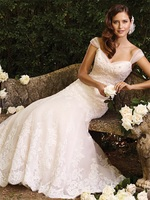 High Quality Modest Wedding Dresses with Sleeves 2015 Sweetheart Vintage Lace Bridal Gown with Train Vestido De Noiva MW3232