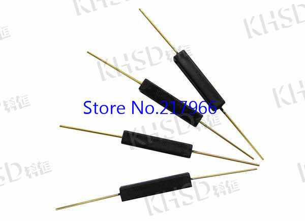 100PCS Hot plastic normally open reed switch magnetic shock and damage to the GPS 14A plastic