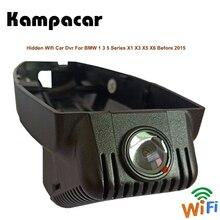 Kampacar Wifi Auto Dvr Con Due Telecamere Per BMW X1 E84 F48 X3 E83 F25 G01 X5 E70 1 3 5 serie Prima di 2015 Auto Dash Cam Macchina Fotografica