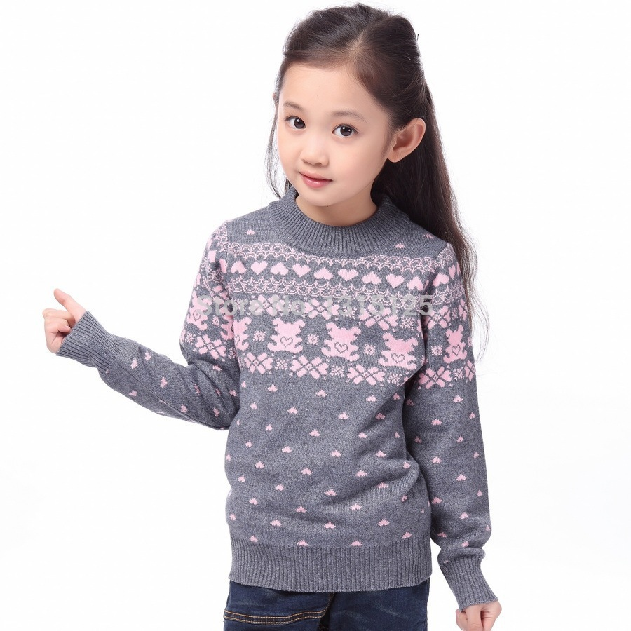 New 2019 Children's Sweater Spring Autumn Girls Cardigan Kids Turtle Neck Sweaters Girl's Fashionable Style outerwear pullovers