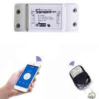 Itead Sonoff 433 Mhz Sonoff RF WiFi Wireless Smart Home Schalter Fernbedienung Smart Timing Schalter Drahtlose Steuerung 10A