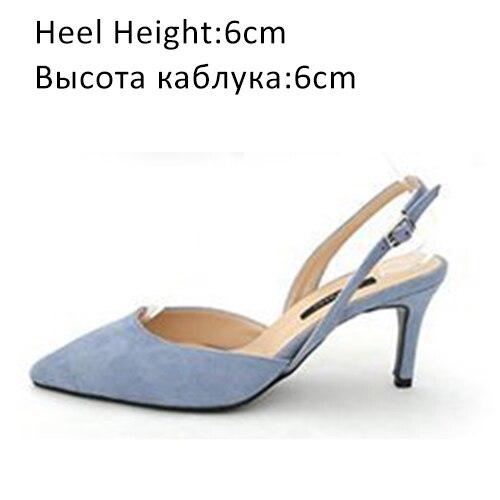 Blue Shoes 6cm