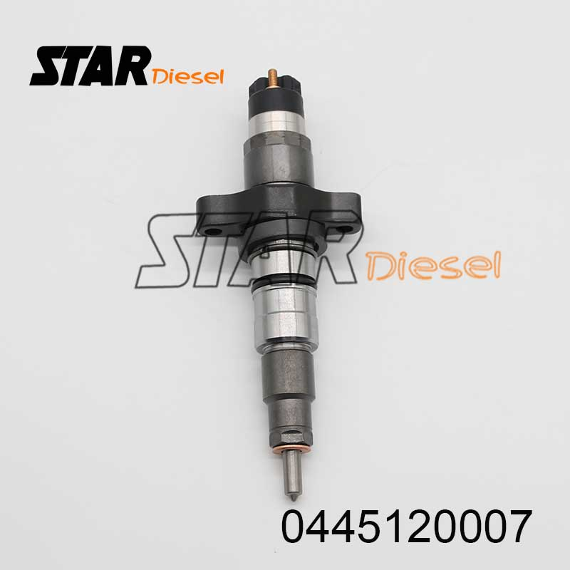 Fuel Injector 0445 120 007 Diesel Engine Injector 28302957 For Iveco EuroCargo 90 E 18, E 21 134/154 KW 09.00-08.03