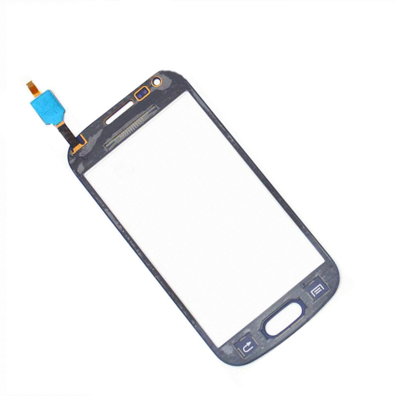 Black For Samsung Galaxy Trend Plus S7580 S7582 DUOS Digitizer Touch Screen Panel Sensor Glass Replacement
