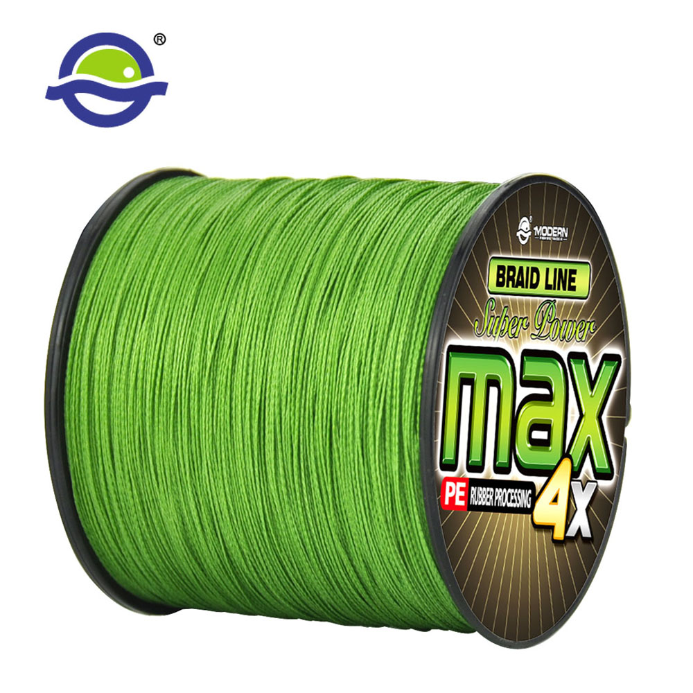 300M MODERN Fishing Line MAX Series Multicolor  Color Mulifilament Wear-resistant PE Braided Fishing Rope 4Strands Braided Wires