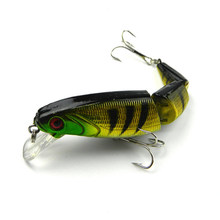 Crankbait Hard Bait Tight Wobble Slow Floating Jerkbait Lifelike RealSkin Painting font b Fishing b font