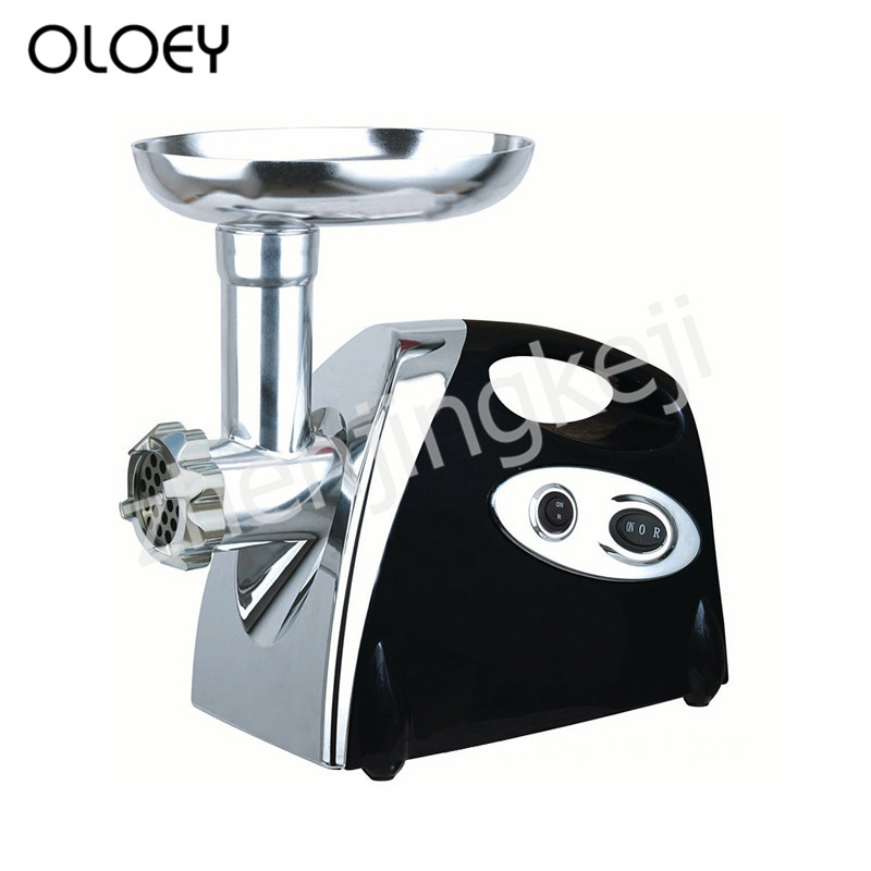 Electric Meat Grinder Minced Meat Stir Mixing Dry Grinding Enema Machine Multifunction Double Speed Adjustable Meat Filling
