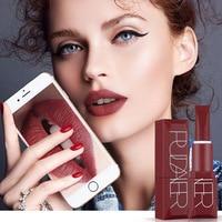 60pcs/set Pudaier Matte Liquid Lipstick 5 Colors Makeup Waterproof Velvet Nude metallic Tint Soft Lipgloss Lips Cosmetics