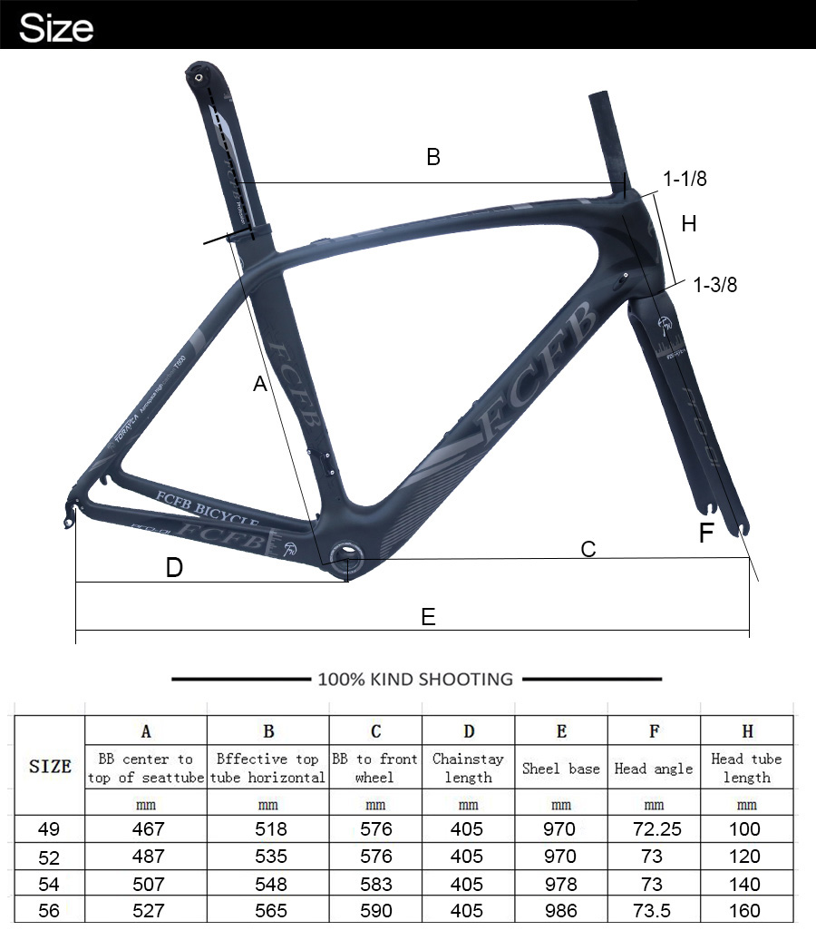 HTB1oPOhRXXXXXabXFXXq6xXFXXXB - 2017 new FCFB carbon road frame bike road carbon frame 49/52/54/56cm matt BSA bicicleta road bike frame with carbon handlebar