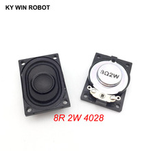 2PCS/Lot LCD Monitor/TV Speaker Horn 2W 8R 4028 2840 Loud speaker 8 ohms 2 Watt 8R 2W 40*28MM цена и фото