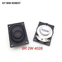 2PCS/Lot LCD Monitor/TV Speaker Horn 2W 8R 4028 2840 Loud speaker 8 ohms 2 Watt 40*28MM