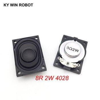 2PCS/Lot LCD Monitor/TV Speaker Horn 2W 8R 4028 2840 Loud speaker 8 ohms 2 Watt 8R 2W 40*28MM