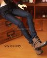 Handsome Jeans Pant for BJD 1/4 MSD,1/3 SD10 SD13,Uncle SD Doll Clothes CMB43 Customized