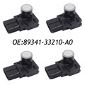 New SET (4) 89341-33210-A0 PDC Parking Sensor Reverse Assist for Toyota 188400-2810 89341-33210