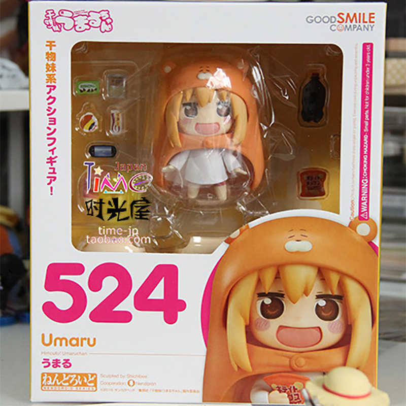 Himouto! Umaru-chan Nendoroid 524 Anime Figure PVC Action Figure Collection Model Toys Umaru Chan Nendoroid Doll Umaru-chan 10cm