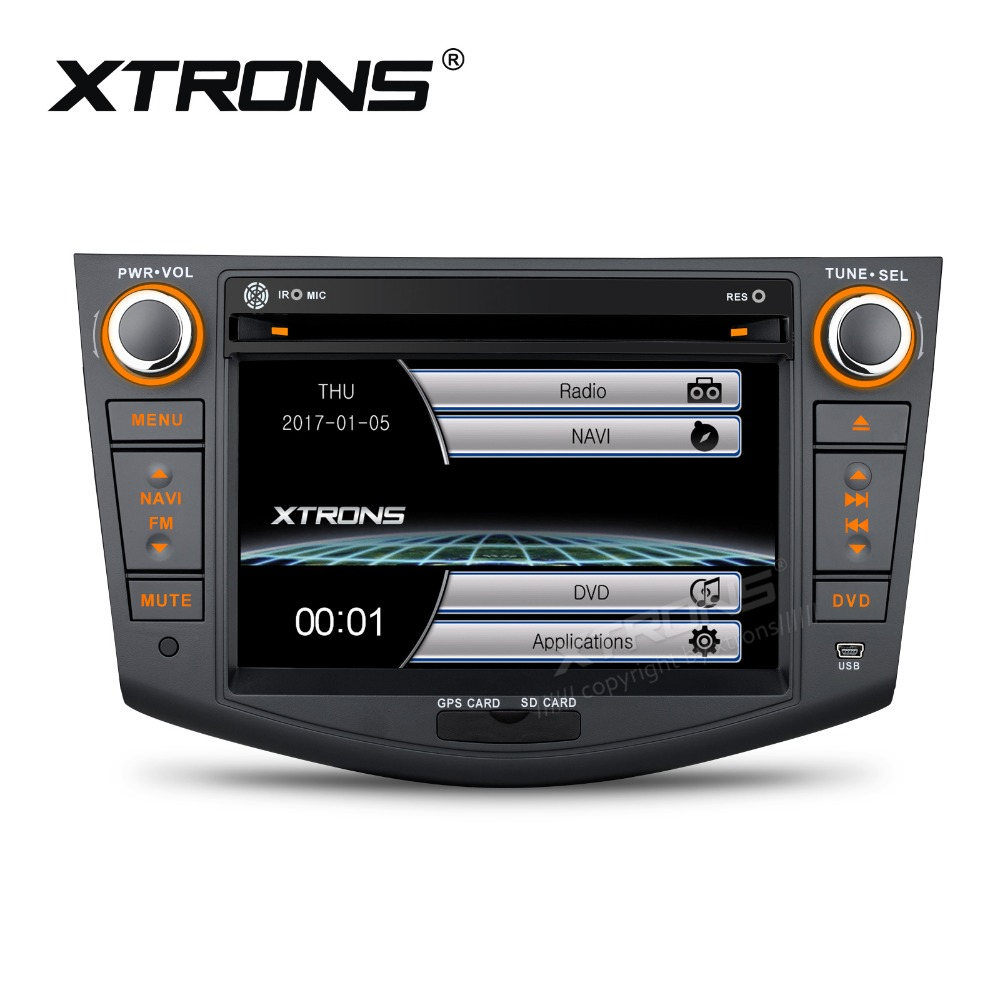 xtrons 7 hd touch screen 2 din car stereo radio dvd. Black Bedroom Furniture Sets. Home Design Ideas