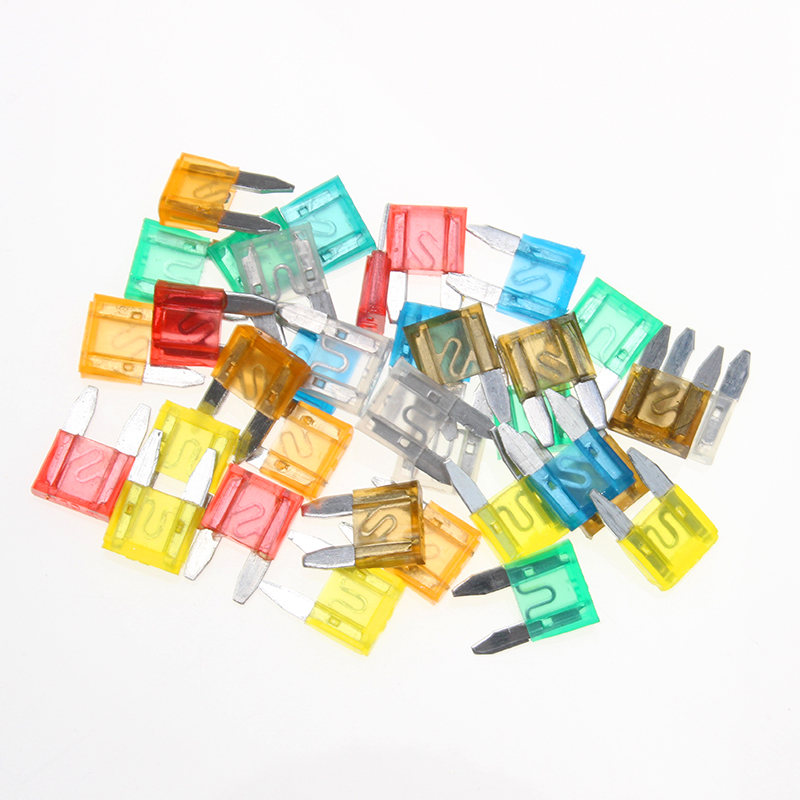 10 GLASS FUSES Classic Old Car Motorbike Auto Home Mixed 2 5 10 15 20 25 30 Amp