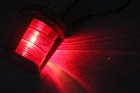 bulb 12v 12V/24V Marine Boat Bulb Light 25W Navigation Sailing Signal Lamp Port Starboard Light Masthead Light Red/Green/White (4)