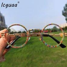 Винтаж маленькие круглые солнцезащитные очки для женщин 2019