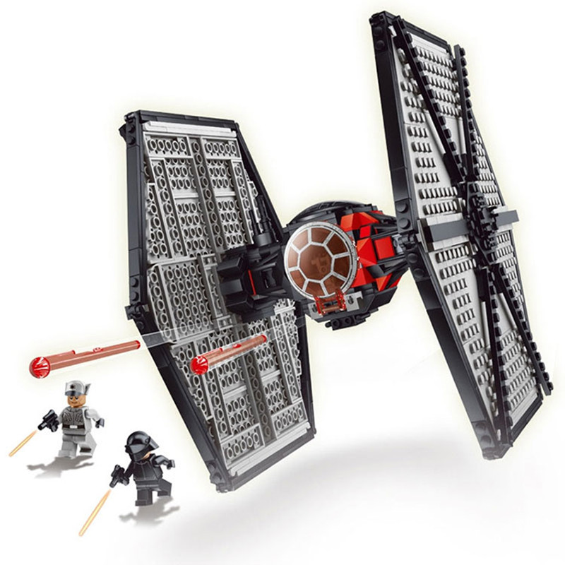2017 New Brand Compatible First Order Special Forces TIE Fighter Model Building Blocks Kit Educational Bricks Toys new fx3u 64ccl special function blocks