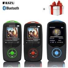 Ruizu X06 MP3 плеер Bluetooth 8 ГБ 16 ГБ Sport 1.8 Экран цифровой MP3 плеера видео плеер TF FM радио Hi-Fi стерео Walkman