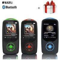 RUIZU X06 Bluetooth Mp3 Player Sport 1 8 Screen 8GB 100H Digital MP3 Music Player Vedio