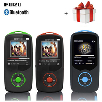 RUIZU X06 Bluetooth Mp3 Player Sport 1 8 Screen 8GB 100H Digital MP3 Music Player Vedio