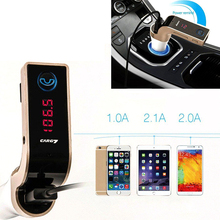 Car FM Transmitter With USB Car Charger