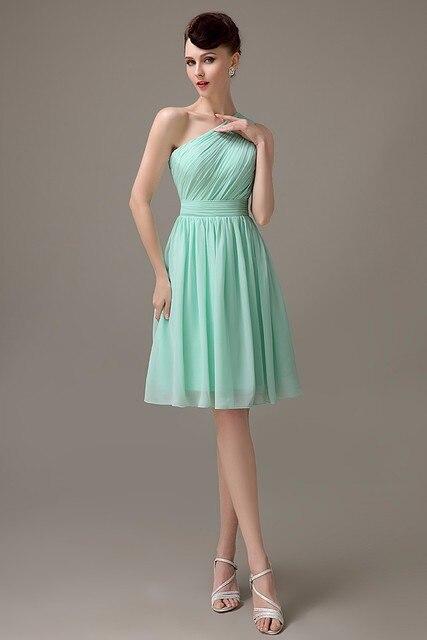 Mint Green Junior Bridesmaid Dresses