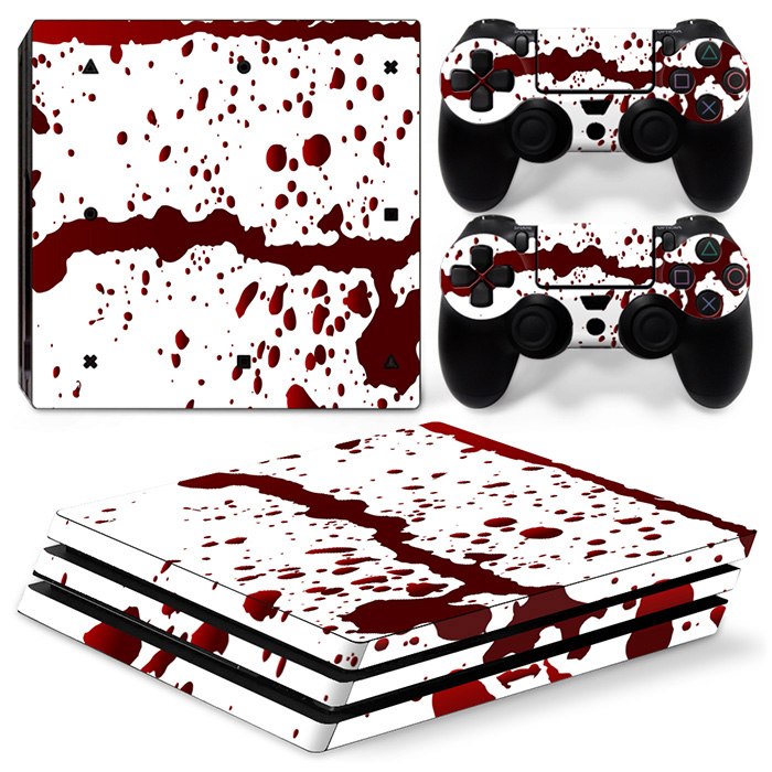 Console Controller Vinyl Skin Decal Stciker for PS4 PRO