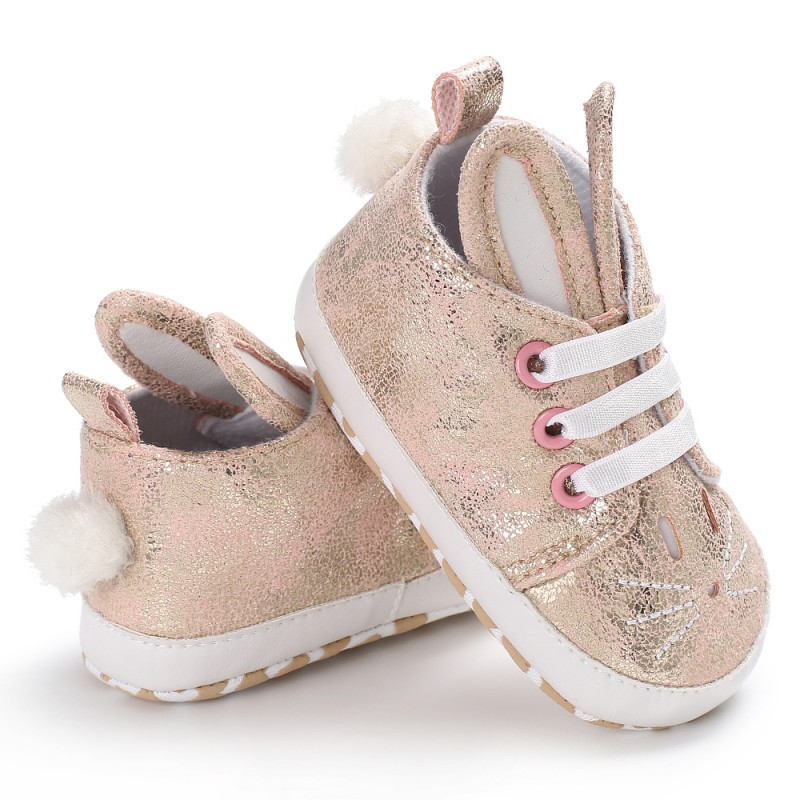 Winter Autumn Anti-Skid Warm Baby Shoes Infant Girl Boy Soft Bottom First Walkers